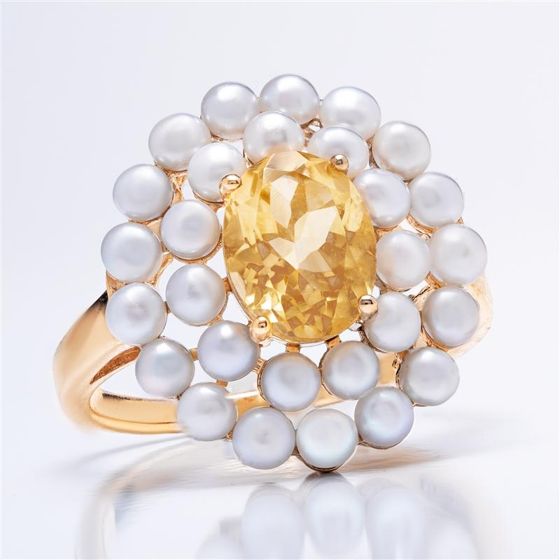 Indulgence Citrine Ring