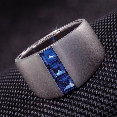 Men's Blues Artist Ring