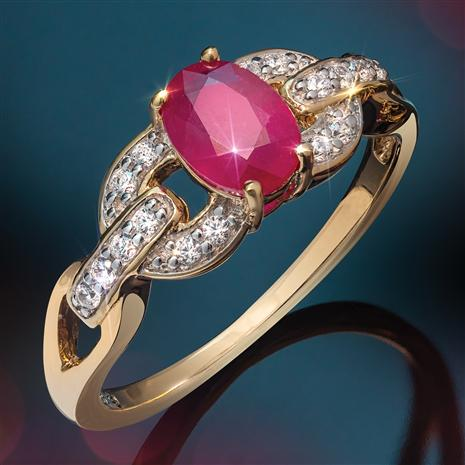 Haute Ruby Ring