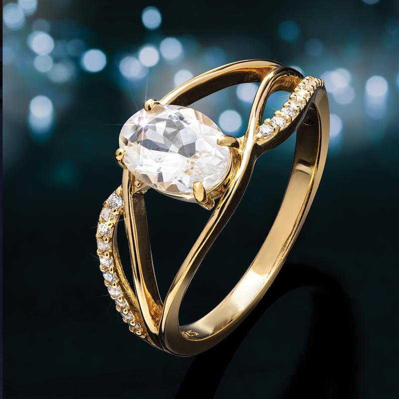 White Emerald Purity Ring