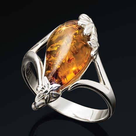 Drops of Amber Ring