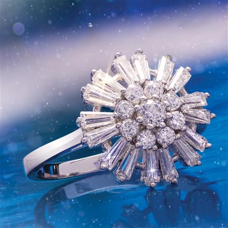 Snowflake Sparkle Ring