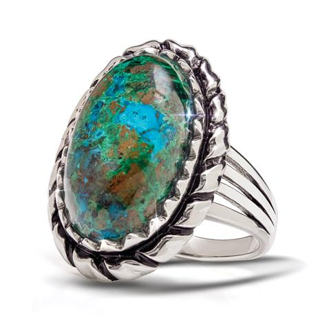 Song of Solomon Chrysocolla Ring