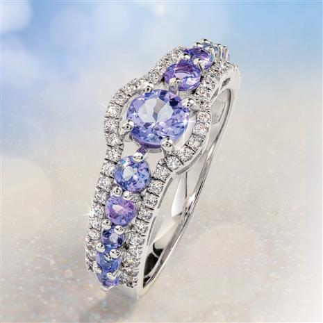 Tanzanite Loving Embrace Ring