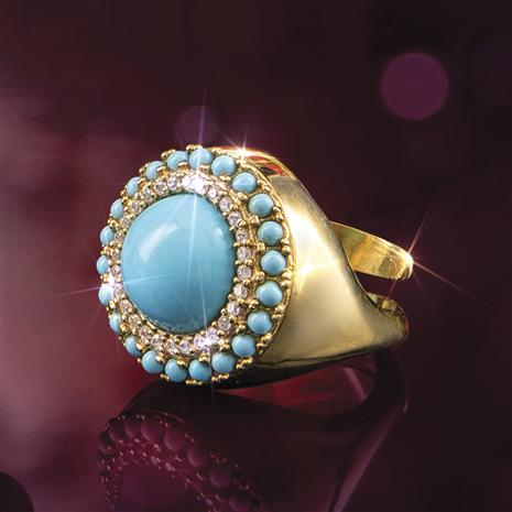 Turchese Italiano Ring