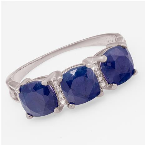 Excelsior Sapphire Ring
