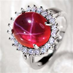 Aster Scienza® Ruby Ring