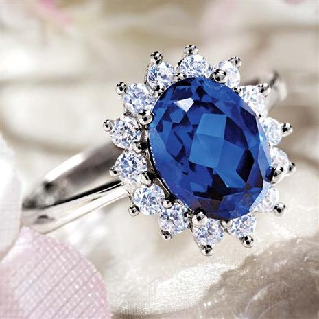Royal Proposal Scienza Sapphire Ring