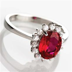 Crimson Scienza® Passion Ring