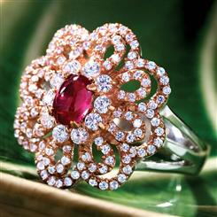 Florios Ruby Ring