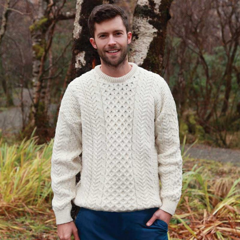 Fisherman Knit Sweater w5838 | Stauer.com
