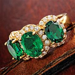 Scienza® Emerald Majestic Ring