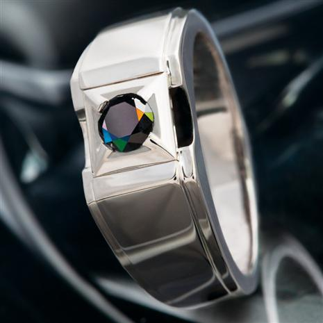 Men's Black Diamond Paladin Ring