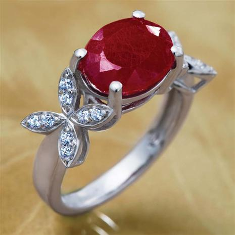 Reverie Ruby Ring