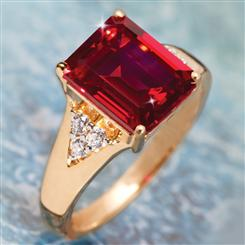 Fiera Scienza® Ruby Ring