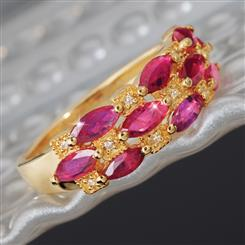 Tsonga Ruby Ring