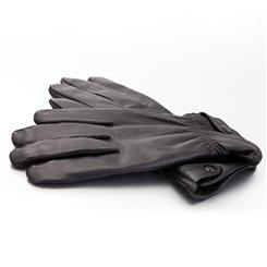 Stauer Mens Leather Gloves
