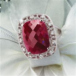 Bordeaux Ruby Ring