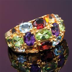 The Danu Multi-Gemstone Ring