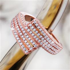 DiamondAura® Starstruck Ring