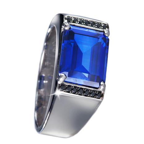 Delta Blue Scienza® Mens Ring