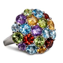 Beaucoup Gemstone Ring