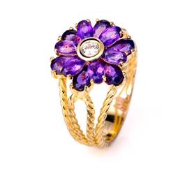 Royal Blossom Ring