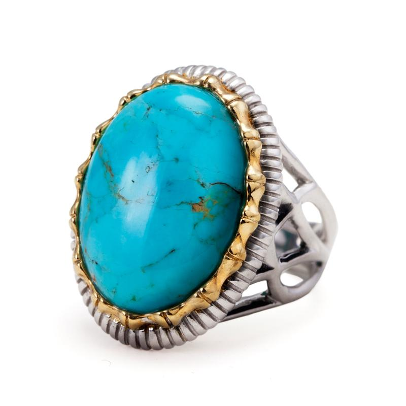 Templo Turquoise Ring