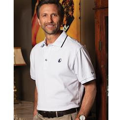 Stauer Luxury White Polo