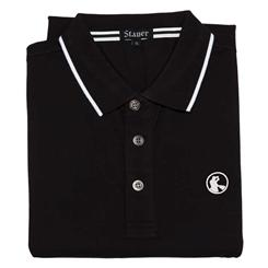 Stauer Luxury Black Polo