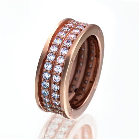 Eternity Rose Gold-finished Ring