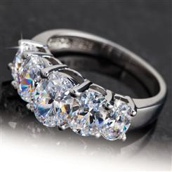 DiamondAura® Quinto 5-Stone Ring