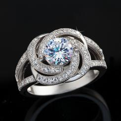 Super Nova Diamond<em>Aura</em>&reg; Ring