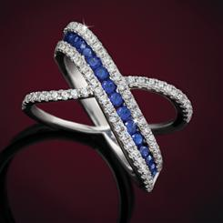 Blue Flame Ring