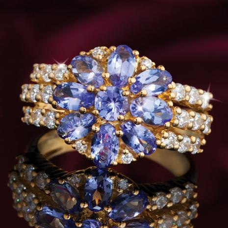 Lovestruck Tanzanite Ring