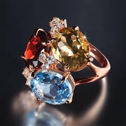 Gem Harmony Ring