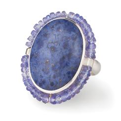 Dumortierite & Tanzanite Rarity Collection Ring