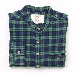 Grandfather Plaid Flannel Shirt