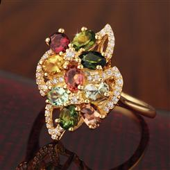 Tourmaline Bouquet