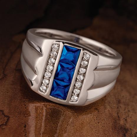 Renegade Blues Ring
