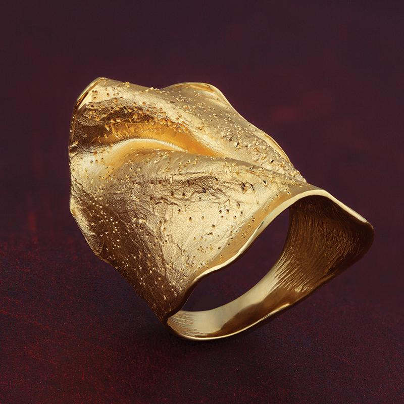 Arezzo Wave Ring