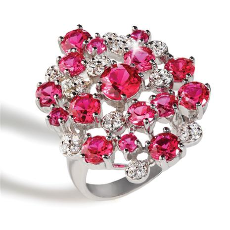Crimson Fire Ring