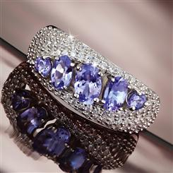 Tanzanite Revolution Ring