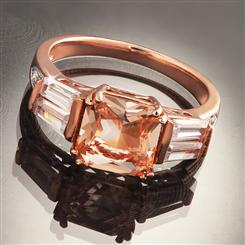 DiamondAura Pink Champagne Ring