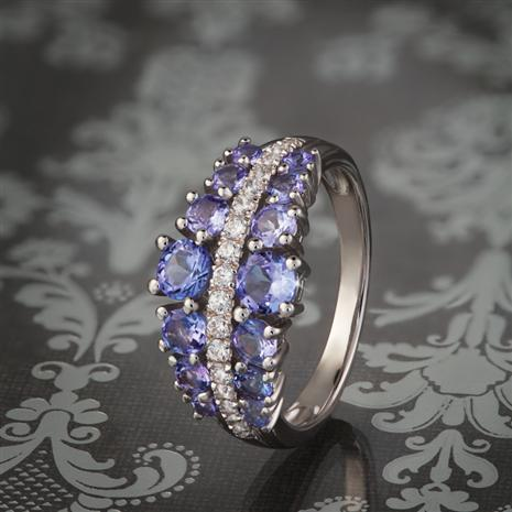 American Crown Tanzanite Ring