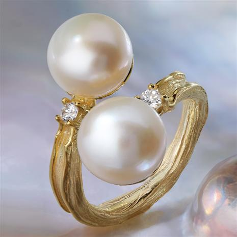 Romantica Pearl Ring