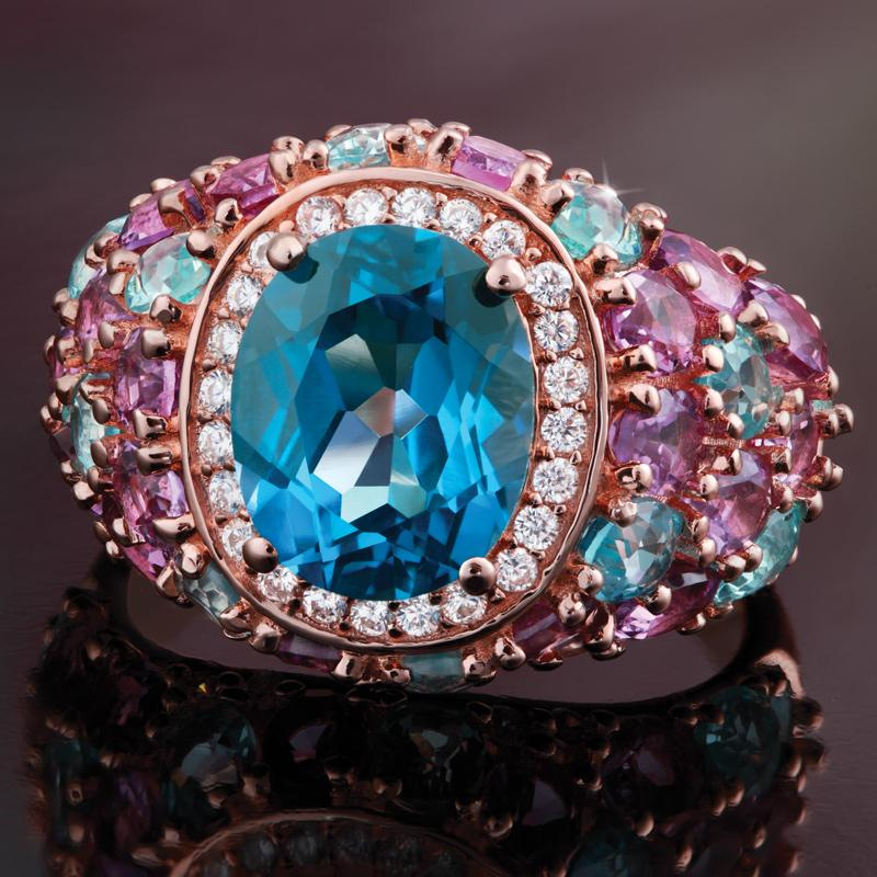 Perfect 10 Blue Topaz Ring