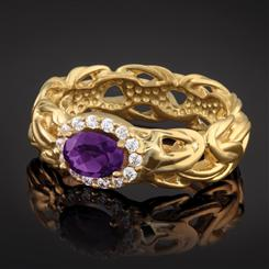 Imperial Amethyst Ring