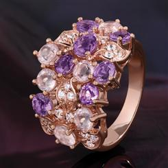 Symposia Amethyst Ring