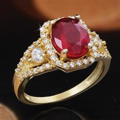 Ruby Ignite Ring